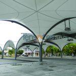 copertura area mercatale Martano 2