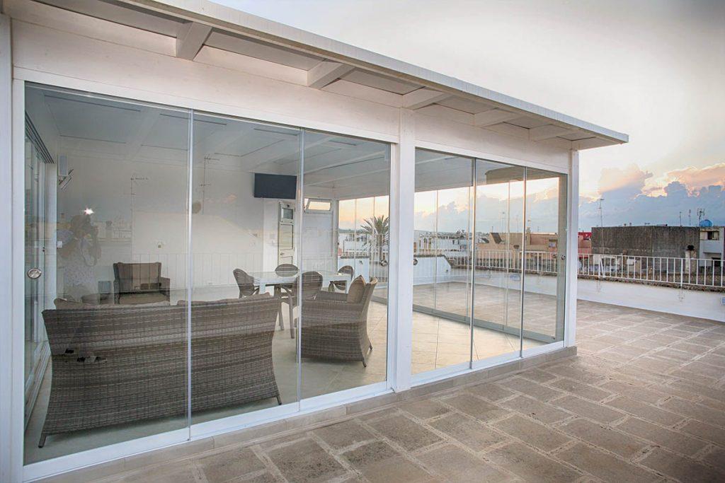 vetrate panoramiche sul attico 1200x800