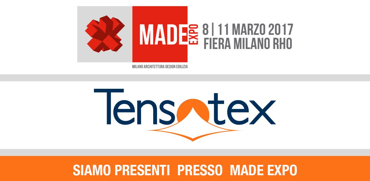 Fiera made expo milano tensotex for Fiera monaco marzo 2017